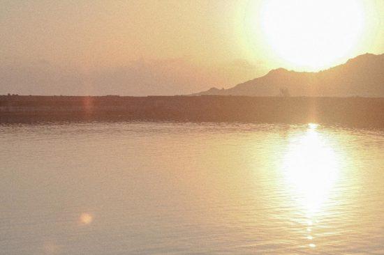 夕焼け 海