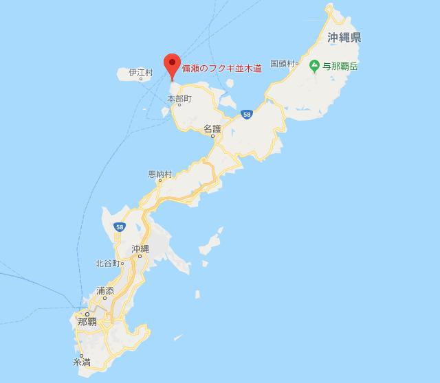 ふくぎ並木 地図