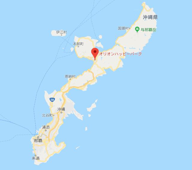オリオン 地図